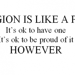 religion is like a penis 2