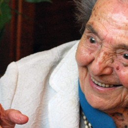 Alice Herz-Sommer lives in London. She is the oldest Holocaust survivor and an inspiration to people all over the world.