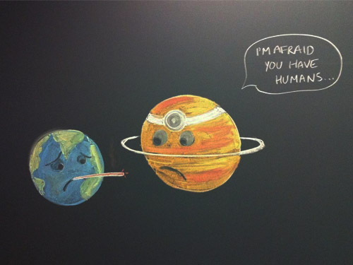 earth has humans