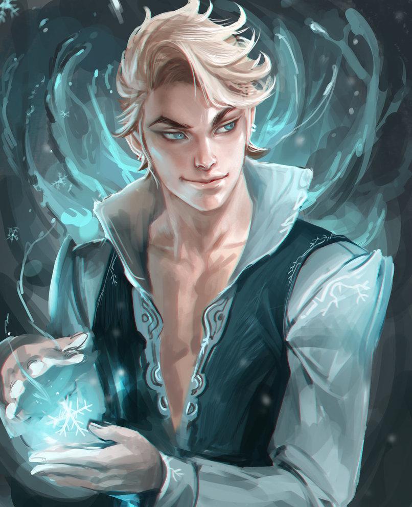 Cool… Elsa-guy? (image by sakimichan – via imgur)