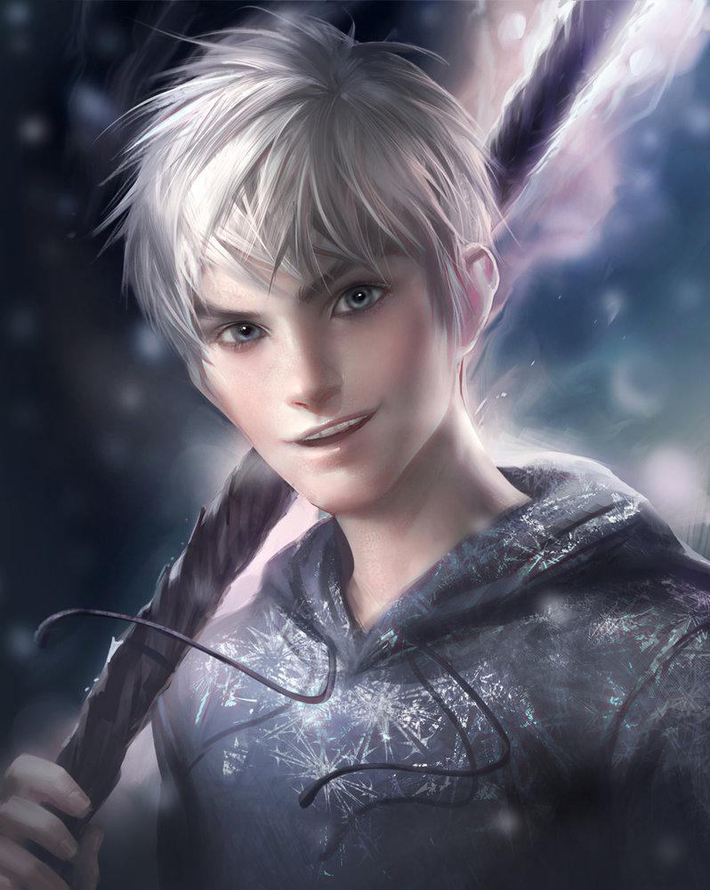 Cool-ish Jack Frost. (image by sakimichan – via deviantart)