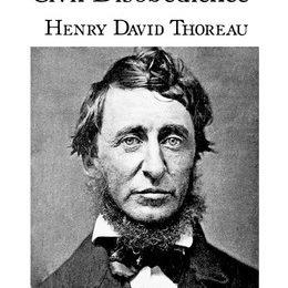 henry david thoreau civil black and white