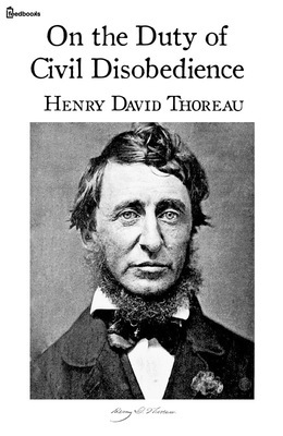 henry david thoreau civil black and white